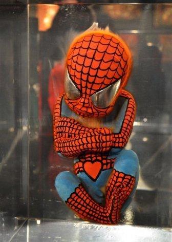 Weird Superhero Fetuses Transformations