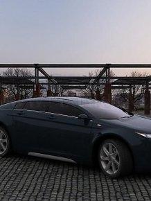 Volga GAZ 5000 GL concept