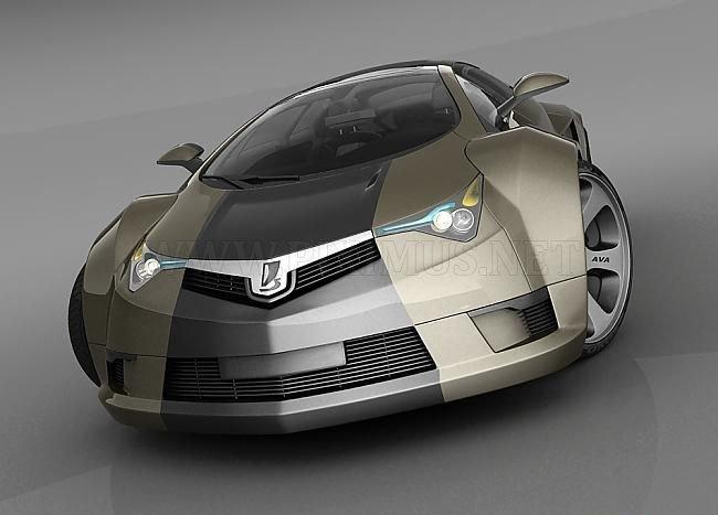 Lada Evolition concept
