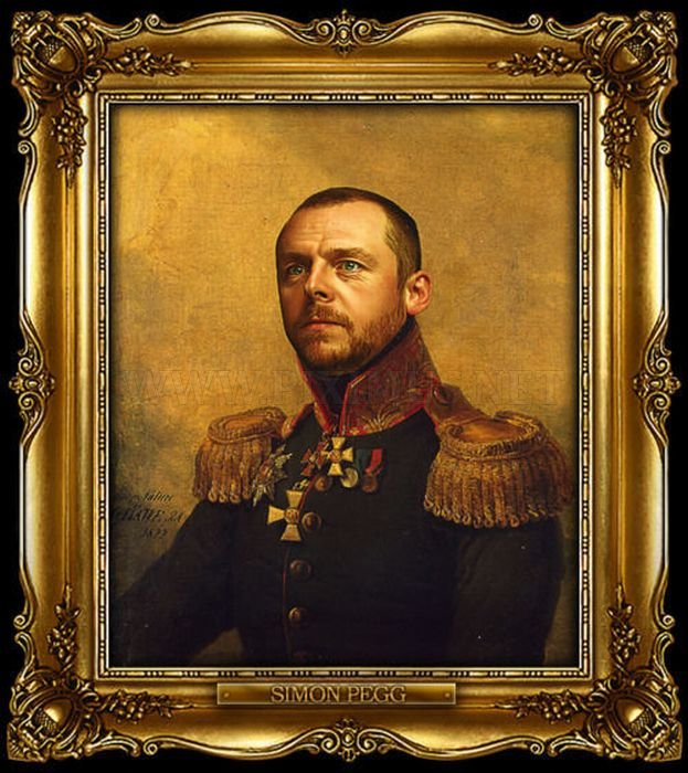 Celebrities Become Russian Generals by Painter George Dawe