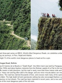 Most Dangerous Roads Around The World