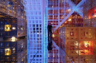 Cool Infinity Room by French Artist Serge Salat