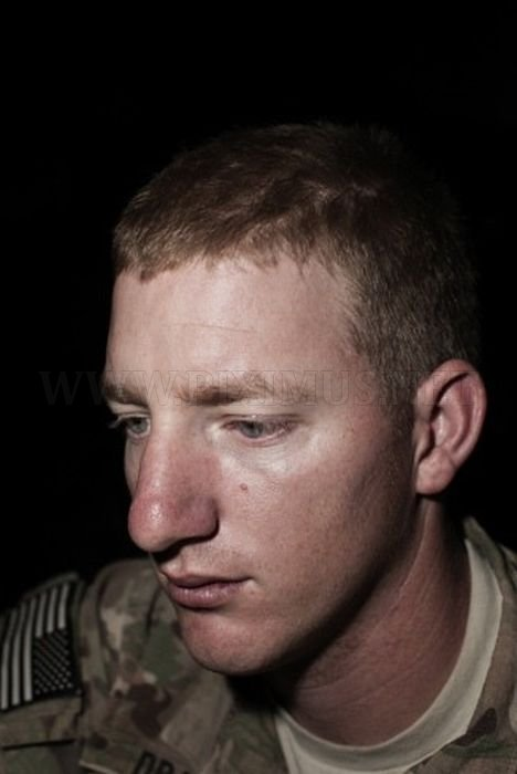 Faces of Soldiers in Afghanistan