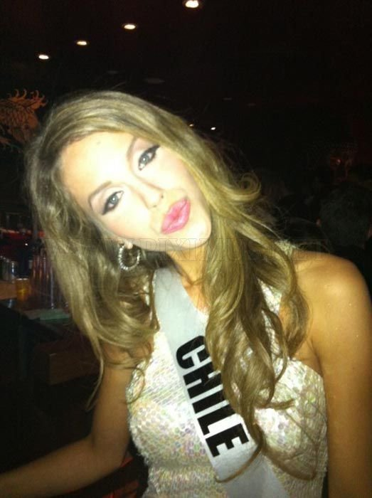 Funny Faces by Miss Universe Contestants