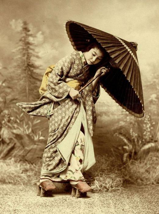 Vintage Photos of Japanese Geisha