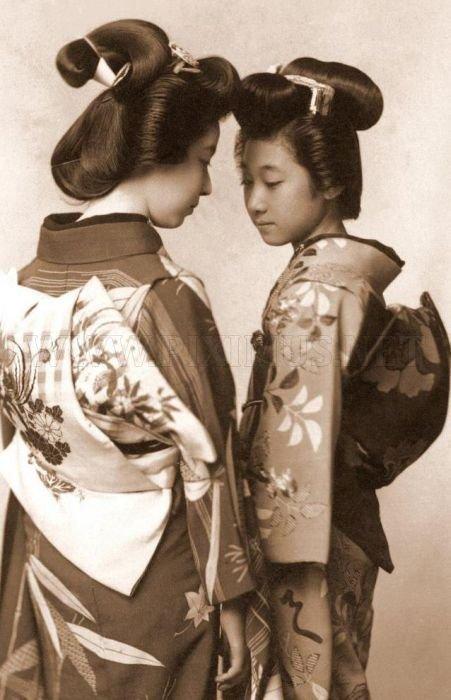 vintage photos of japanese geisha others. Black Bedroom Furniture Sets. Home Design Ideas