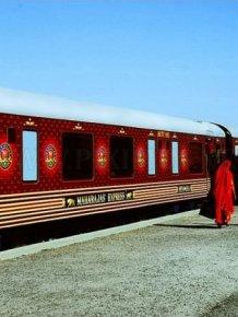 Luxurious Indian Train