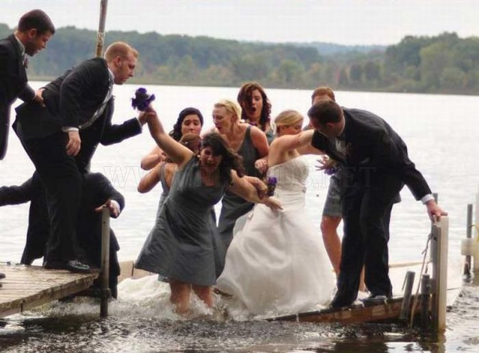 Wedding Day Fail