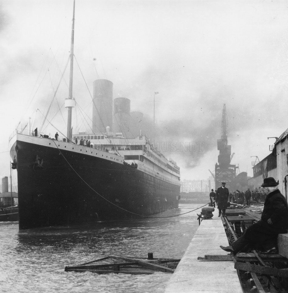 100th anniversary of the death of Titanic