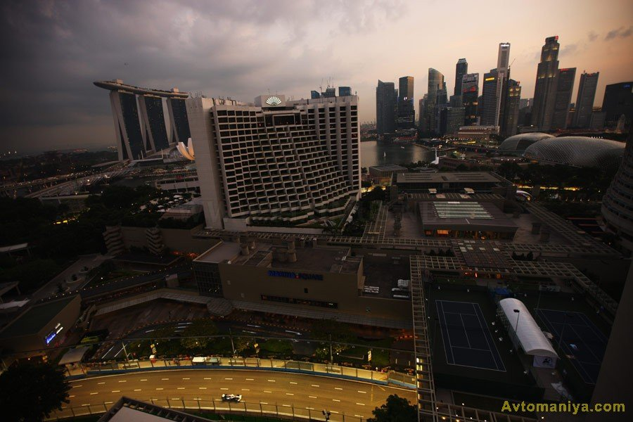 Behind the scenes of the Grand Prix of Singapore 2011, part 2011