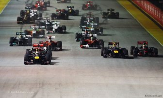 Behind the scenes of the Grand Prix of Singapore 2011