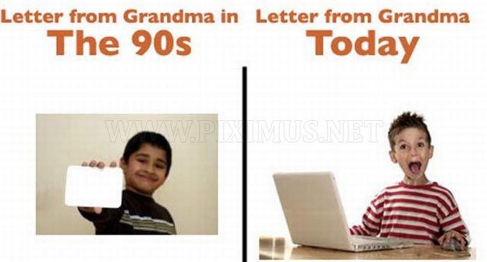 90s vs. Present Day
