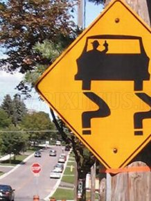 Bizarre real life road signs
