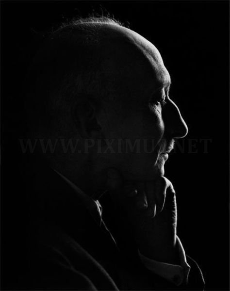 Black and White portraits of famous people