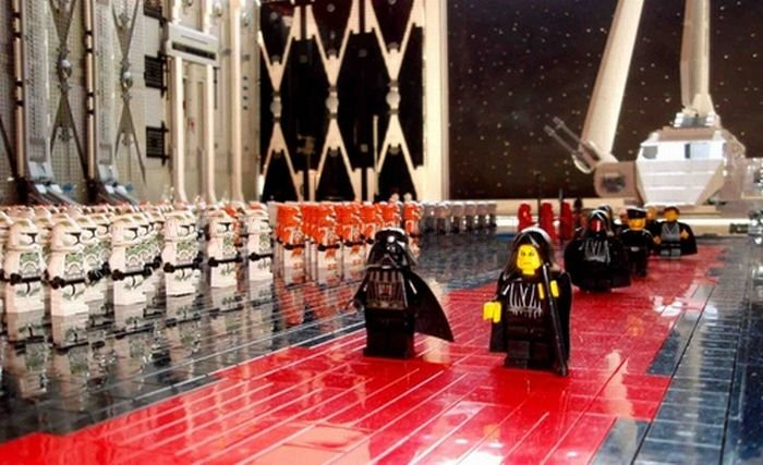 Arrival of the Emperor in Lego