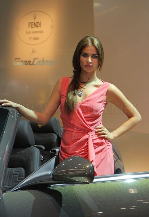 Cars and Girls Frankfurt Auto Show