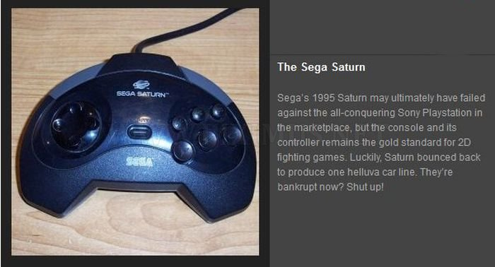 The Evolution of the Video Game Controllers