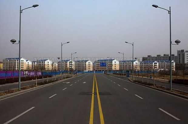 Empty Town in China