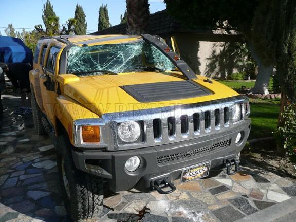 Hummer Crash