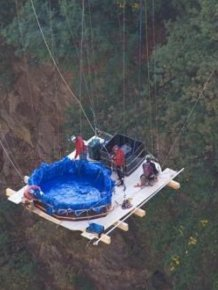 The most extreme hot tub ever