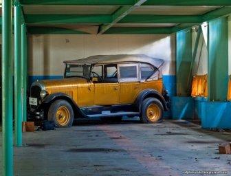 Abandoned Retro Car Museum in Japan