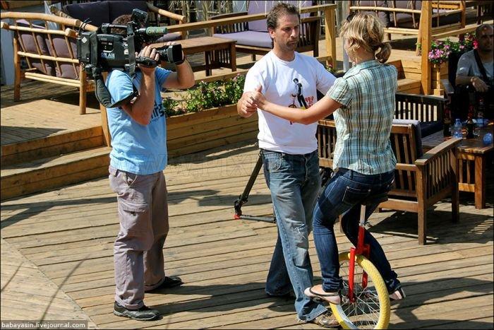 Awesome Monocycle Skills
