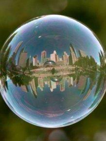 Famous Landmarks in Bubbles