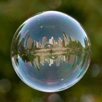Famous Landmarks in Bubbles