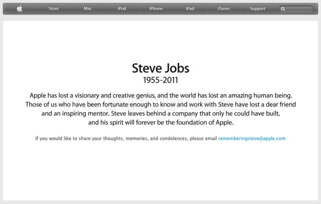 Steve Jobs' Unique and World Altering Career Remembered