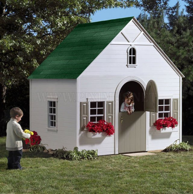 Play Homes Built for Super Rich Kids