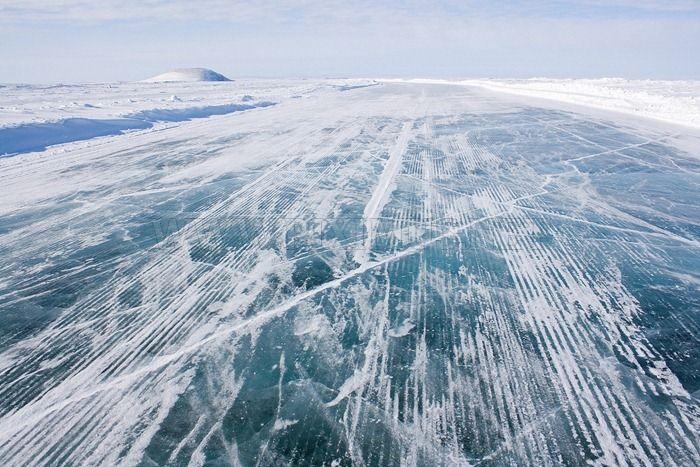 The Ice Road to Tuktoyaktuk