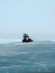 The Ice Road to Tuktoyaktuk