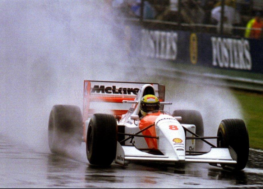 A racing legend - Ayrton Senna