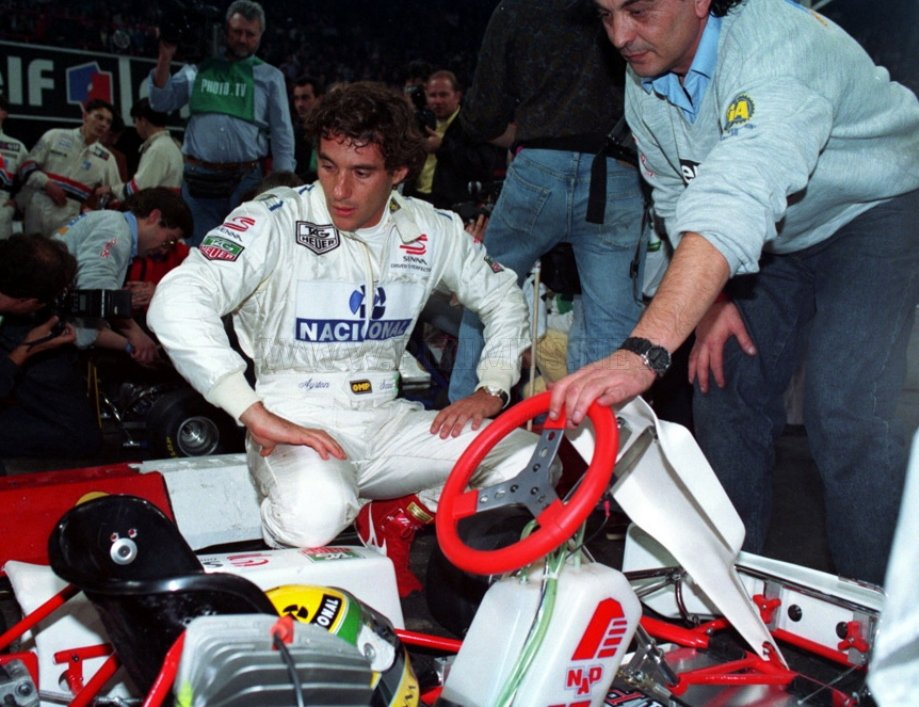 A racing legend - Ayrton Senna