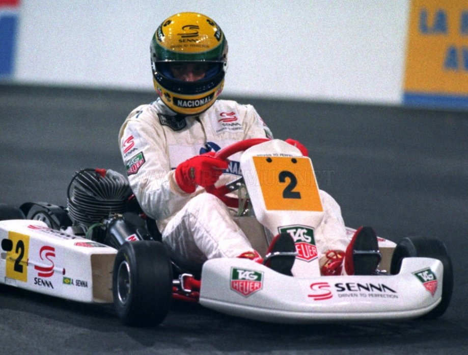 A Racing Legend Ayrton Senna Celebrities