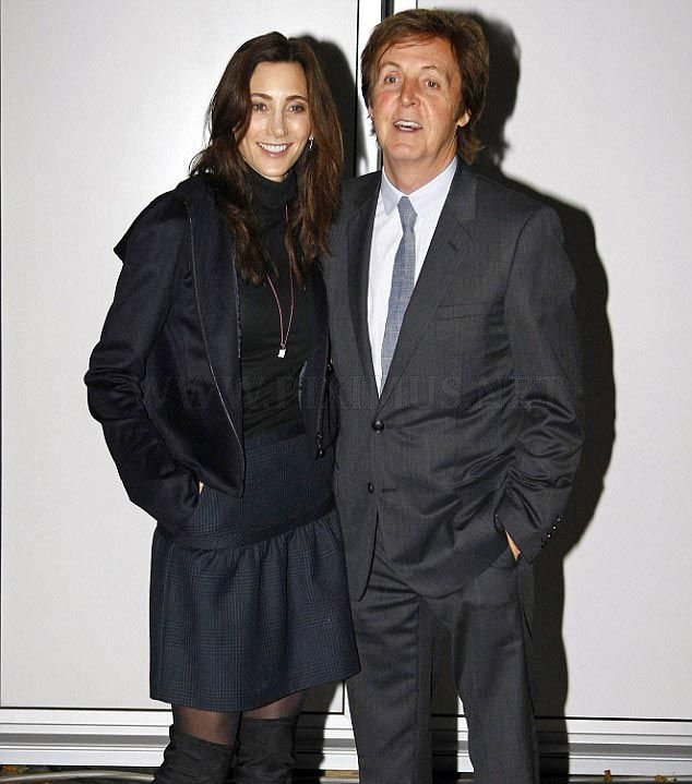 Sir Paul McCartneys New Wife Nancy Shevell