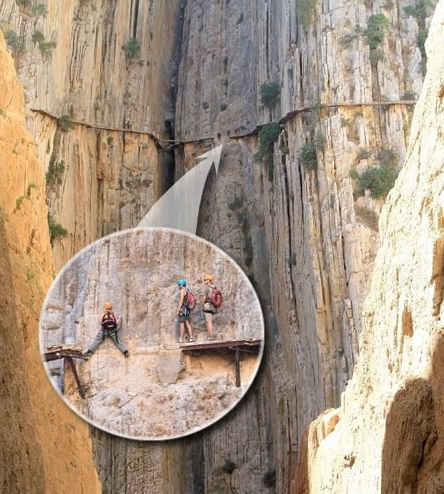 A Trail for Adrenaline Junkies