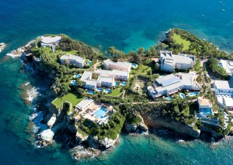 Capsis Elite Resort - Hotel on a private peninsula in Greece