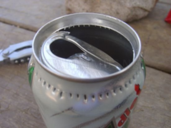 How to Make a Camping Stove out of a Can