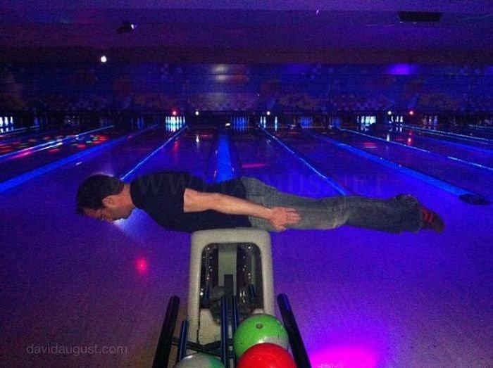 Bizarre Planking Positions