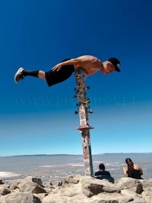 Bizarre Planking Positions