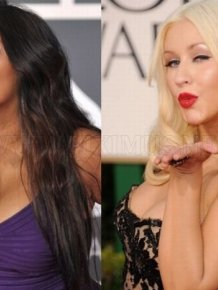 Christina Aguilera And Snooki Are Twins