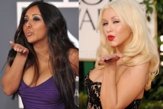 Christina Aguilera And Snooki Are Twins
