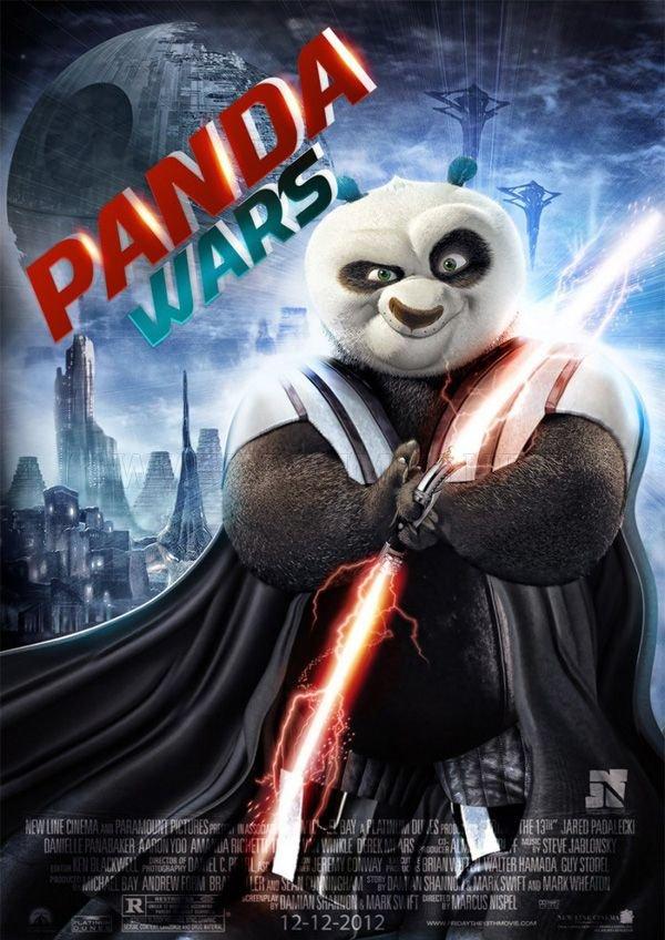 Star Wars Movie Poster Mash-Ups