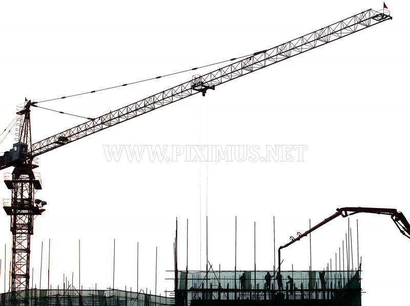 Construction of buildings in China