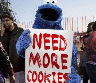 Sesame Street Characters Occupy Wall Street