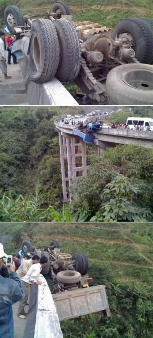 Amazing Pictures of Lucky Escapes