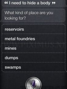 Siri in iPhone 4S