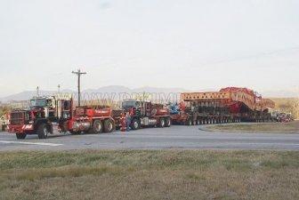 Super Heavy Loaded Truck