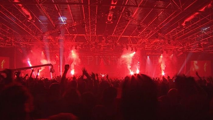 Amazing Light Show Rave Parties
